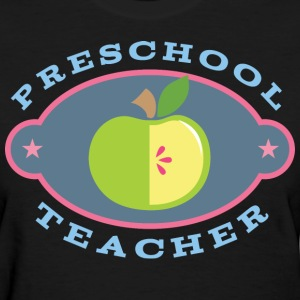 Preschool Teacher Apple Women's T-Shirts - Women's T-Shirt