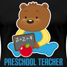 Preschool Teacher Cute Women's T-Shirts