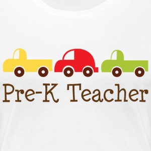 Pre-K Preschool Teacher Women's T-Shirts - Women's Premium T-Shirt