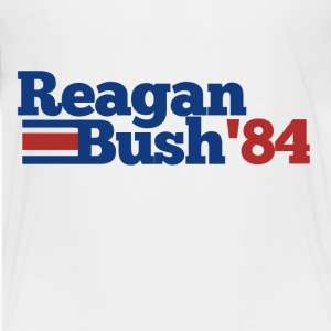Reagan Bush 1984 vintage republican - Kids' Premium T-Shirt