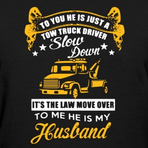 Truck Driver - My Husband - Women's T-Shirt