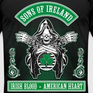sons of ireland T-Shirts - Men's T-Shirt by American Apparel