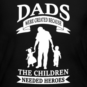 Father's Day Shirt - Women's Long Sleeve Jersey T-Shirt