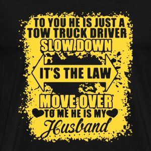 My Husband - Truck Driver - Men's Premium T-Shirt