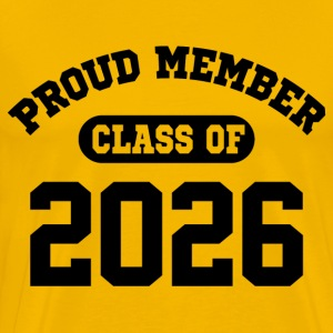 Class Of 2026 T-Shirts - Men's Premium T-Shirt