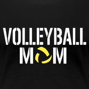 VOLLEYBALL MOM SHIRT - Women's Premium T-Shirt