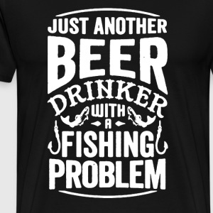 Beer Drinker Shirt - Men's Premium T-Shirt