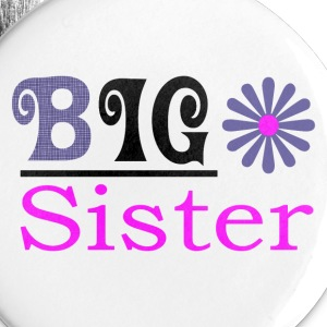Big Sister Girls Button - Small Buttons