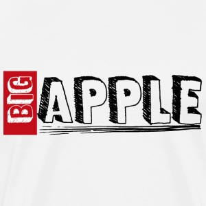 Big Apple, New York - Men's Premium T-Shirt