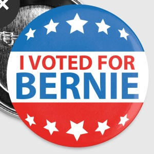 I Voted For Bernie - Small Buttons