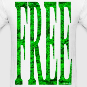 free-cannabis T-Shirts - Men's T-Shirt