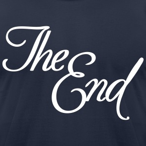 The End T-Shirts - Men's T-Shirt by American Apparel