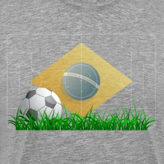 Soccer ball on grass field T-Shirts