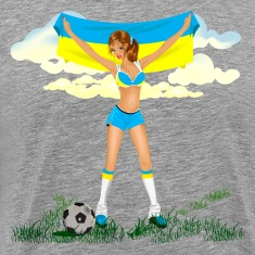 Ukraine soccer girl T-Shirts