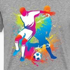 Football players at play T-Shirts