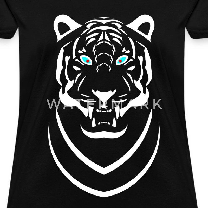 WHITE SIBERIAN TIGER T-Shirt | Spreadshirt Cute Siberian Tiger Shirt