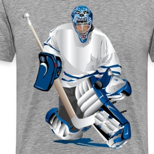 Hockey player T-Shirts - Men's Premium T-Shirt