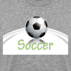 Soccer ball graphics T-Shirts
