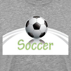 Soccer ball graphics T-Shirts - Men's Premium T-Shirt