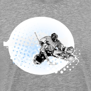 Ice hockey design T-Shirts - Men's Premium T-Shirt