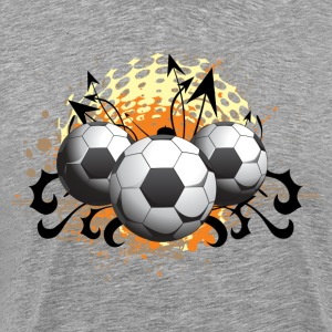 Football design art T-Shirts - Men's Premium T-Shirt