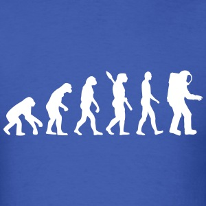 Evolution Astronaut T-Shirts - Men's T-Shirt