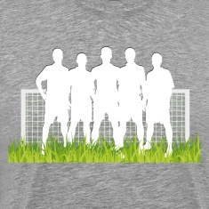 Soccer match in spotlight T-Shirts