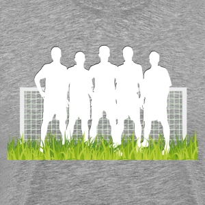 Soccer match in spotlight T-Shirts - Men's Premium T-Shirt