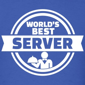World's best server T-Shirts - Men's T-Shirt