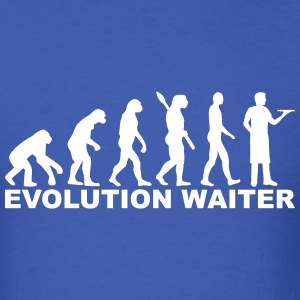Evolution Waiter T-Shirts - Men's T-Shirt