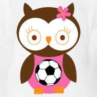Design ~ Future Soccer Player Girl Baby Tshirt
