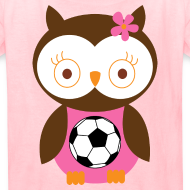 Design ~ Cute Girls Soccer Tshirt