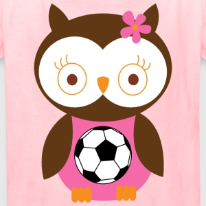 Soccer Player Girl Pink Kids' Shirts - Kids' T-Shirt