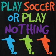 Design ~ Fun Kids Soccer Player Soccer Tshirt