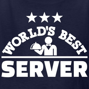 World's best server Kids' Shirts - Kids' T-Shirt