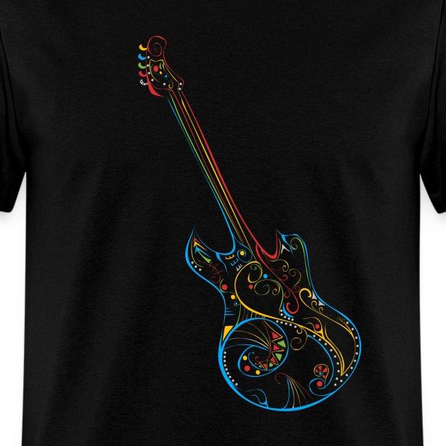 Love Music Guitar T-shirt