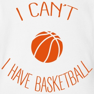 I can't I have Basketball Baby Bodysuits - Short Sleeve Baby Bodysuit