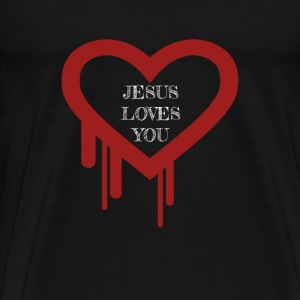 The depth of His love for you - Men's Premium T-Shirt