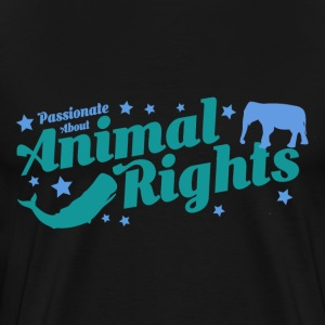 AnimalRightsShirtsDesign by Calico Dragon  T-Shirts - Men's Premium T-Shirt