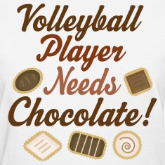 Volleyball Player Funny Women's T-Shirts