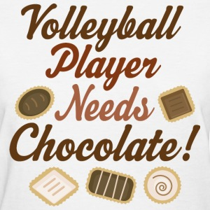 Volleyball Player Funny Women's T-Shirts - Women's T-Shirt