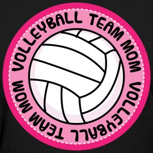 Volleyball Team Mom Cute Women's T-Shirts - Women's T-Shirt