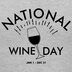 National Wine Day Women's T-Shirts - Women's V-Neck T-Shirt