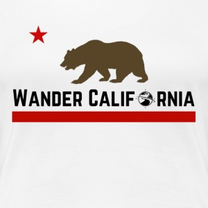 Wander California - Women's Premium T-Shirt