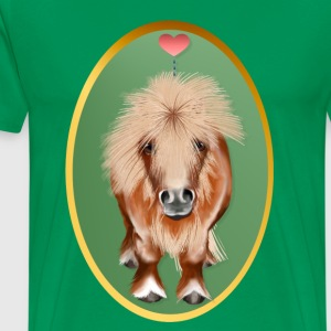 PONY-Oval - Men's Premium T-Shirt