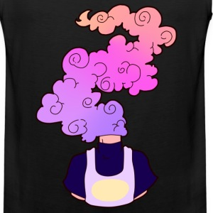 Cloudy Thoughts - Men's Premium Tank