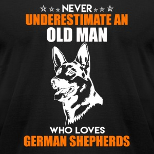 German Shepherds Shirt - Men's T-Shirt by American Apparel
