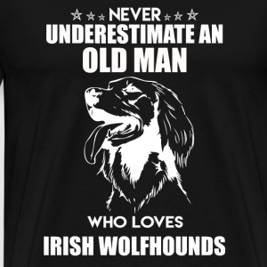 Irish Wolfhounds Shirt - Men's Premium T-Shirt