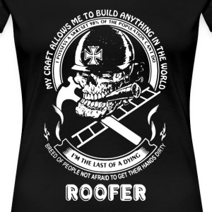 Roofer Shirt - Women's Premium T-Shirt