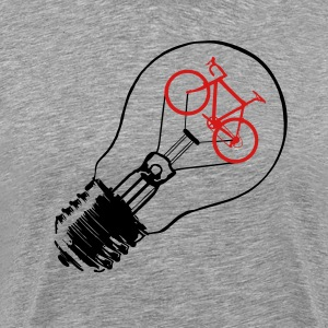 BULB BIKE T-Shirts - Men's Premium T-Shirt